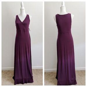 Old Navy Dresses - Old Navy Purple Sleeveless Maxi Dress